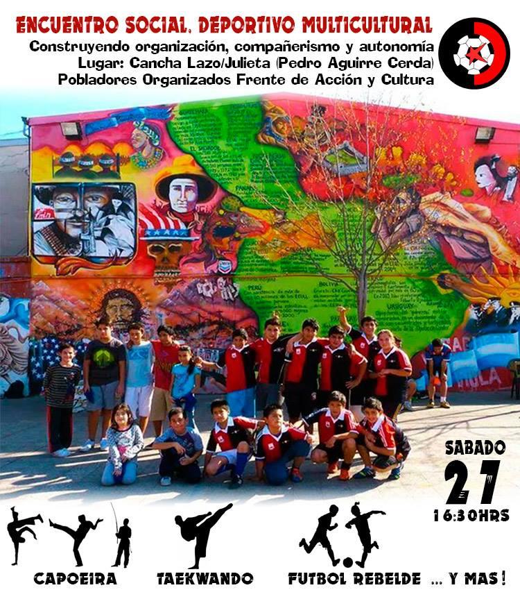 Encuentro Fútbol Rebelde PAC
